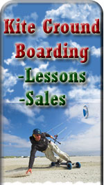Kite Ground Boarding Sales and Lessons