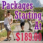 Land Paddle Packages