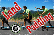 Check Out Our Land Paddle Products