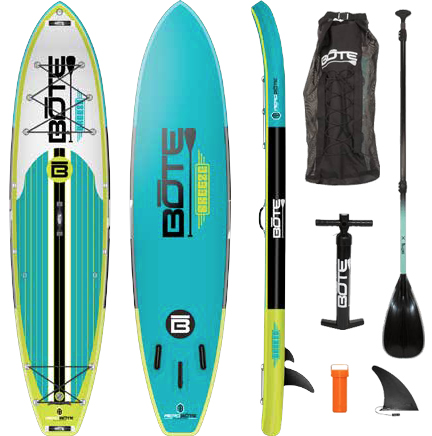 BOTE Breeze 11' Inflatable Paddle Board on Vimeo