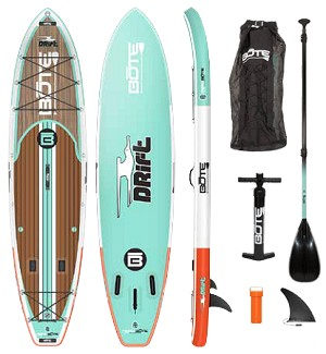 Bote Drift Inflatable SUP Package