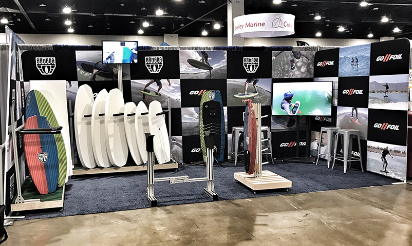 Colorado Boat Show Booth